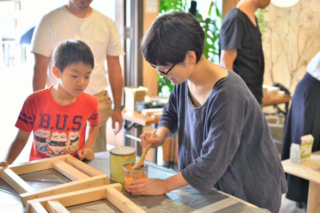 イベントレポート 「DIY体験!大工さんとテーブルづくりワークショップ」写真02