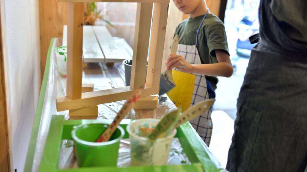 イベントレポート 「DIY体験!大工さんとテーブルづくりワークショップ」写真09