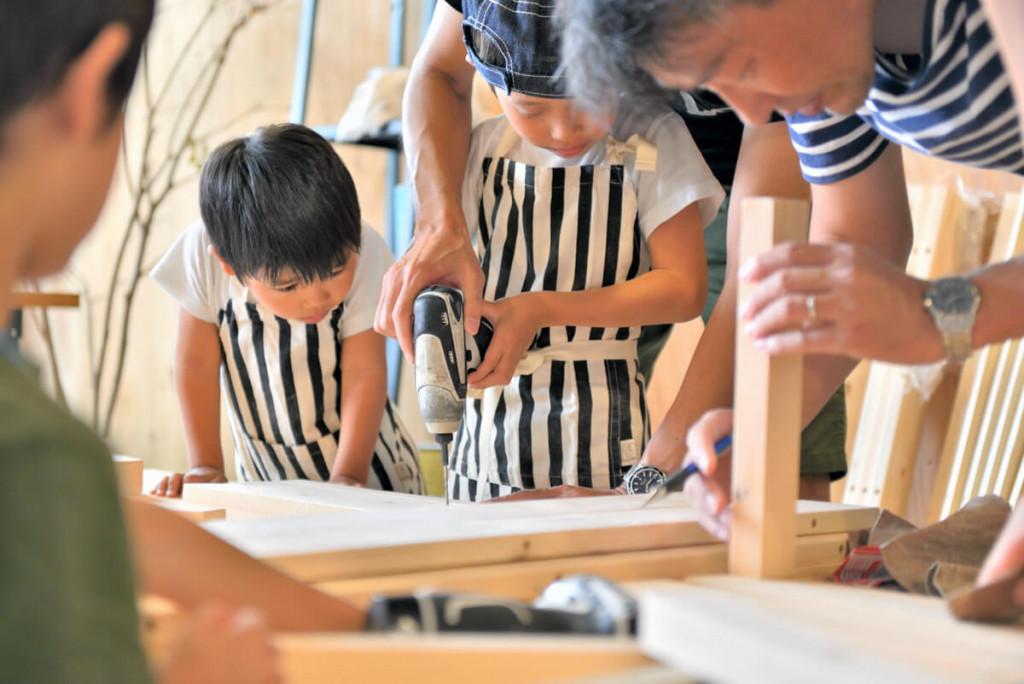 イベントレポート 「DIY体験!大工さんとテーブルづくりワークショップ」写真04