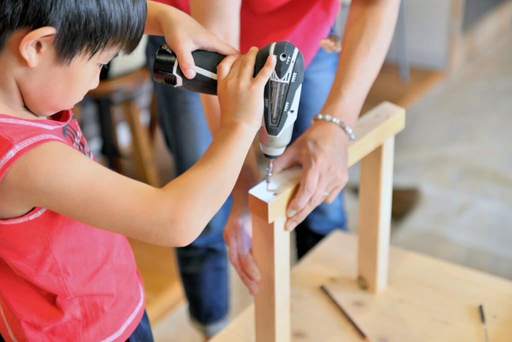 イベントレポート 「DIY体験!大工さんとテーブルづくりワークショップ」写真05