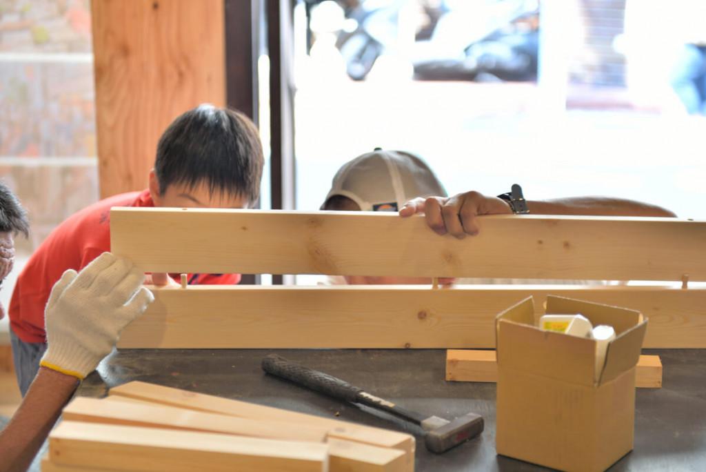イベントレポート 「DIY体験!大工さんとテーブルづくりワークショップ」写真07