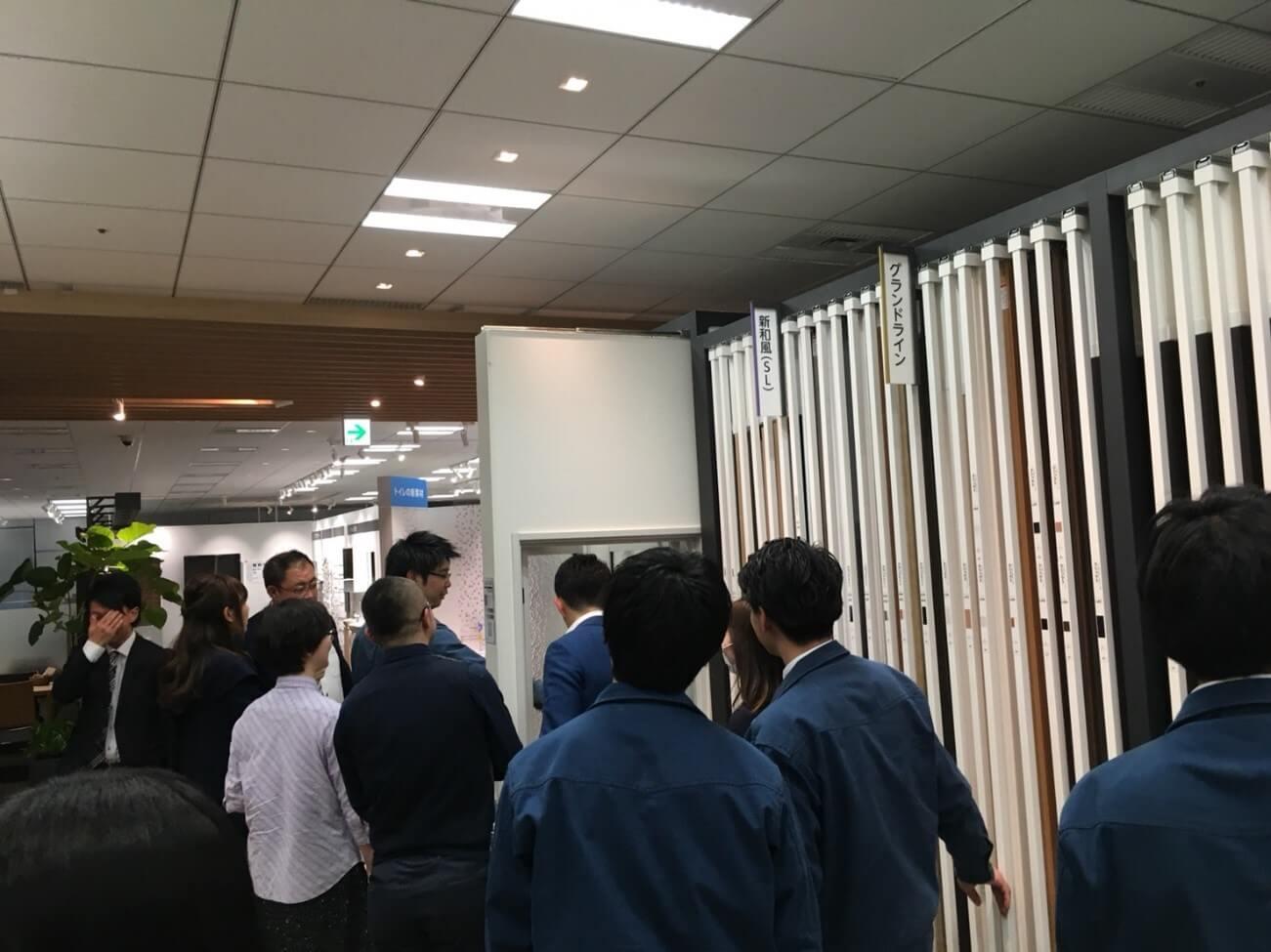 イベントレポート|建築事業部でリクシルショールームへ!写真9