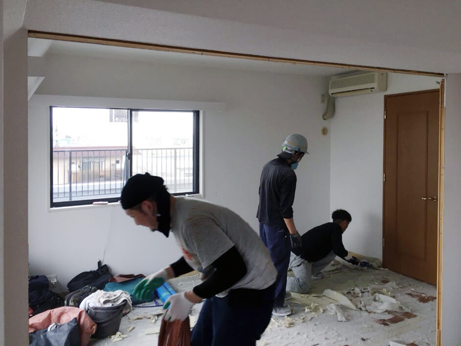 施工レポート:施工管理の面白さ写真①