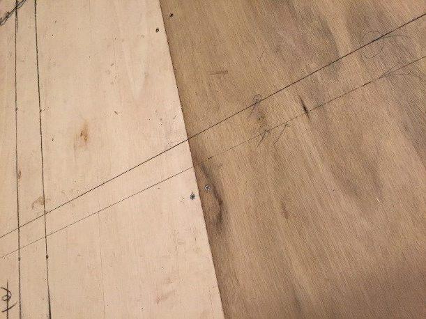 墨出しの線