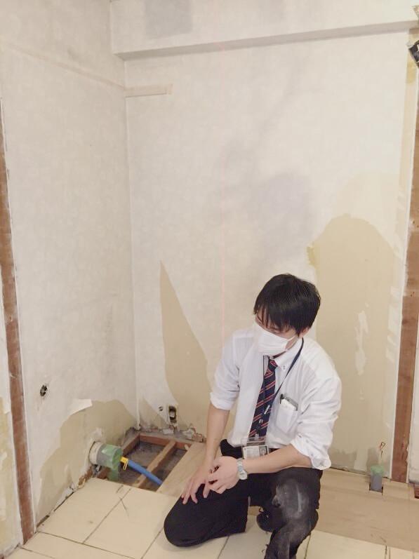 リノベーション会社の新卒3人の普段の仕事に密着!!!:写真5+