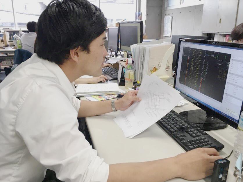 リノベーション会社の新卒3人の普段の仕事に密着!!!:写真6+