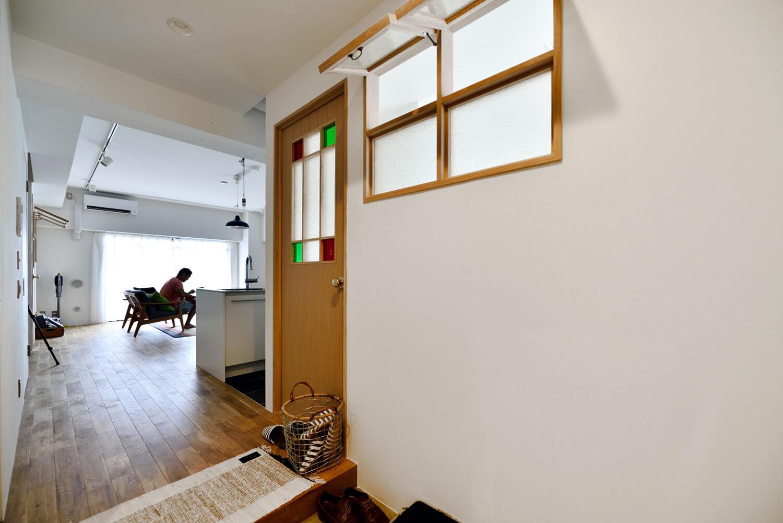 マンションリノベにおススメ!お部屋を明るく華やかにする「室内窓」の魅力。写真4