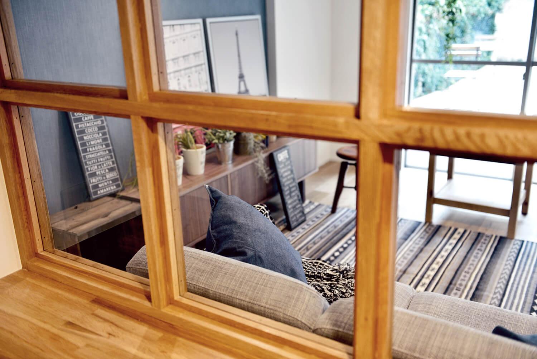 マンションリノベにおススメ!お部屋を明るく華やかにする「室内窓」の魅力。写真3