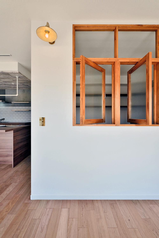 マンションリノベにおススメ!お部屋を明るく華やかにする「室内窓」の魅力。写真7