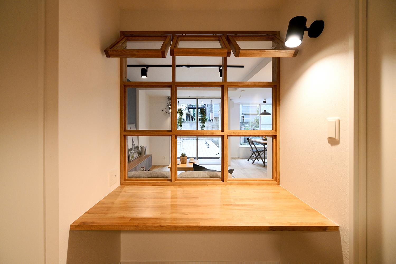 マンションリノベにおススメ!お部屋を明るく華やかにする「室内窓」の魅力。写真13