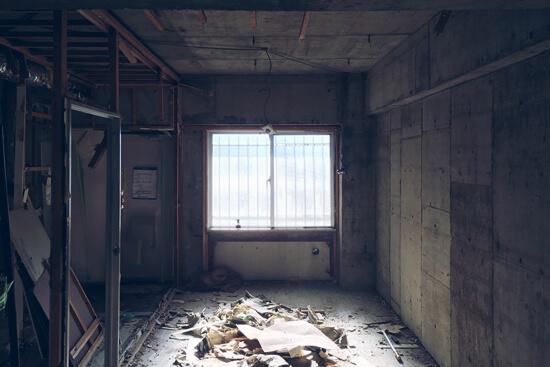 Cuestudioがつくるリノベーション済みマンション物件の工事が始まりました ①現場レポ:解体~軽量鉄骨下地