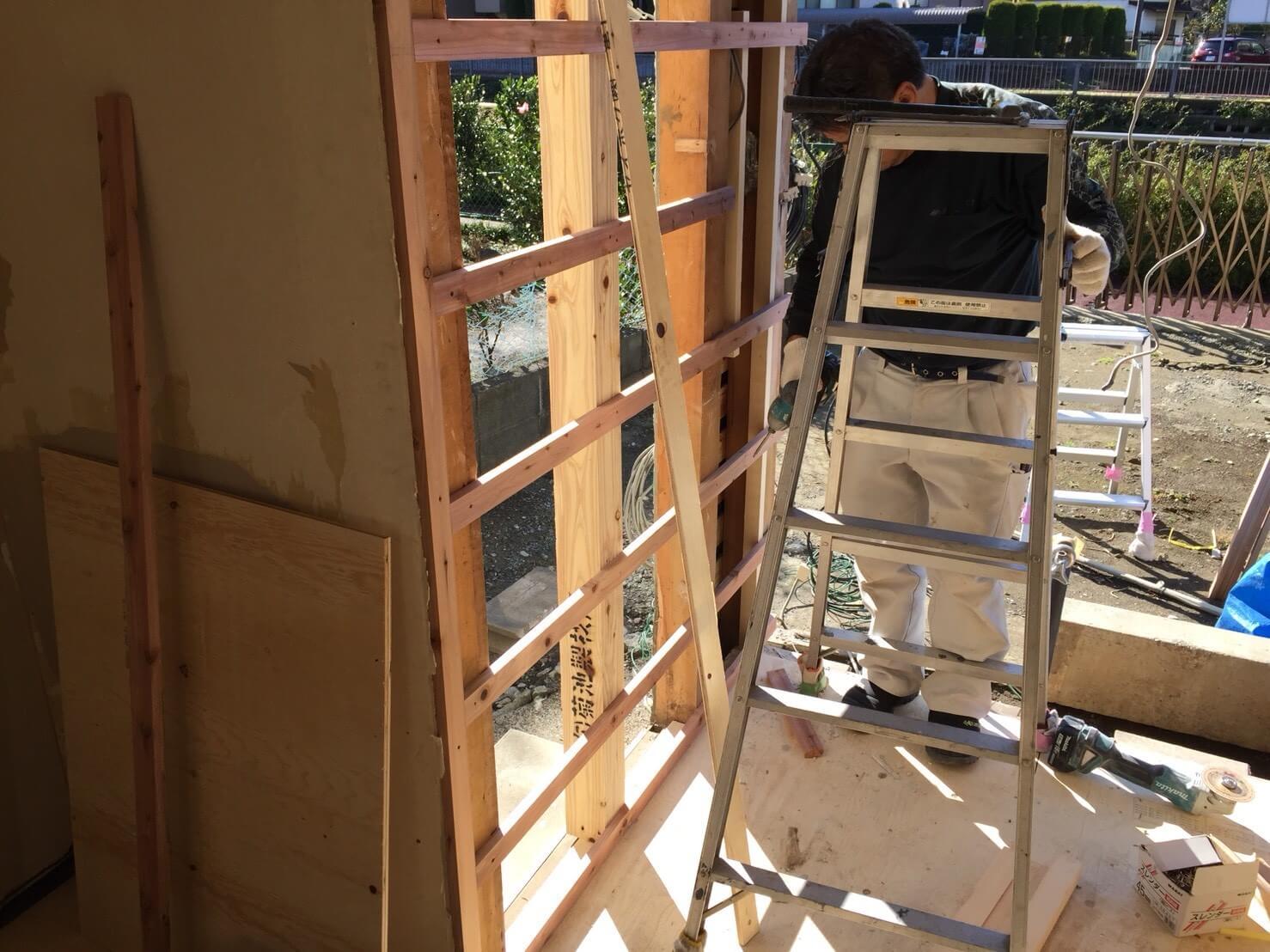 戸建てリノベーションの現場レポート!「外構工事」-1