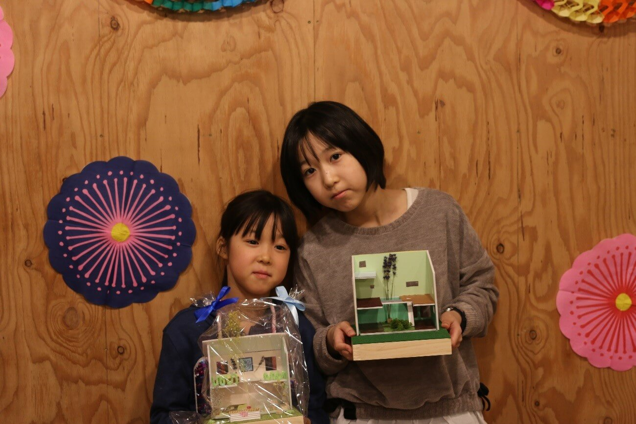 キュースタジオで模型造りワークショップ開催!!-9