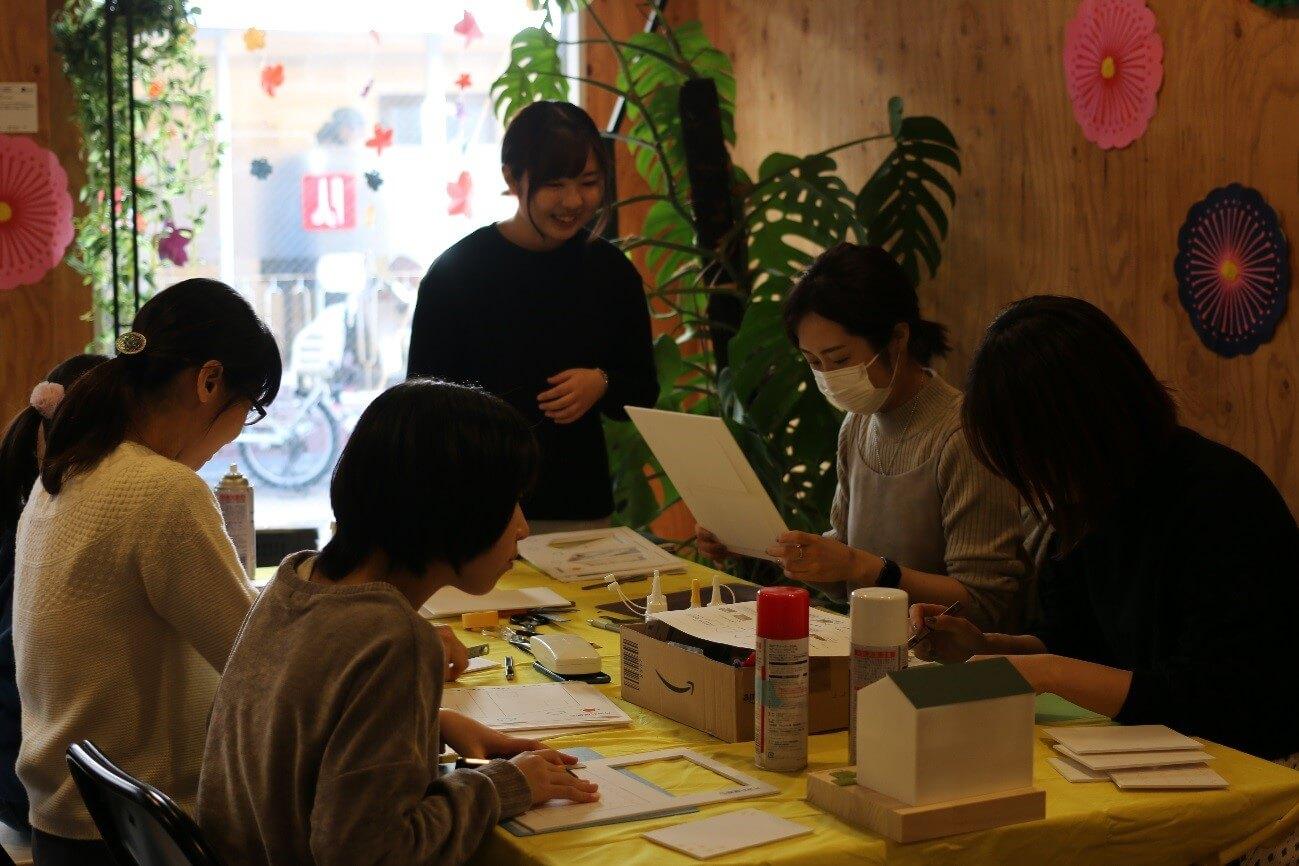 キュースタジオで模型造りワークショップ開催!!-5
