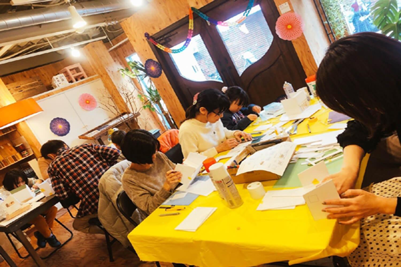 キュースタジオで模型造りワークショップ開催!!